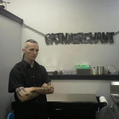 Our head piercer, Dave