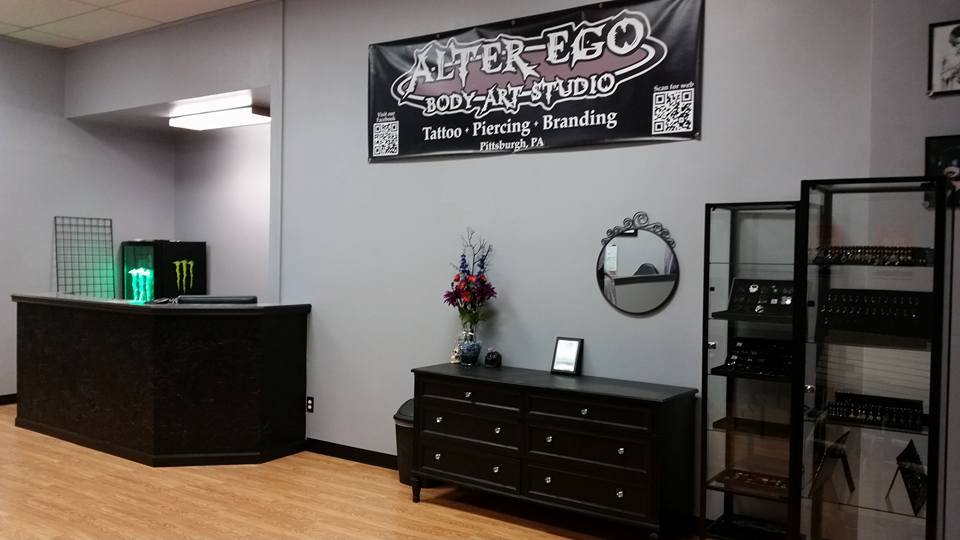 Alter Ego Body Art Studio Tattoos Piercings Brandings Body Jewelry In Castle Shannon Pahome Alter Ego Body Art Studio